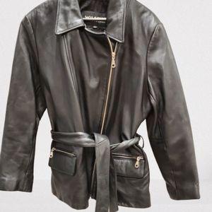 Wilson's The Leather Expert biker coat jacket